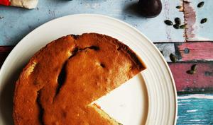 Gâteau aux prunes et à la farine d'épeautre