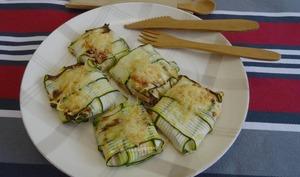 Raviolis de courgettes à la ricotta et jambon
