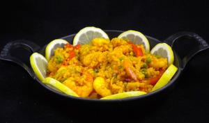 Riz aux crevettes à l'espagnole