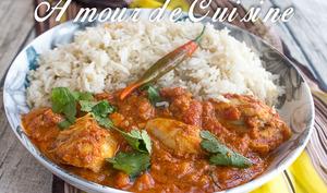 plat indien, le poulet tikka massala