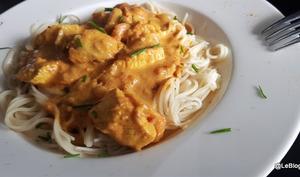 Curry au poulet du Mozambique