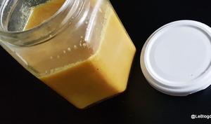 Beurre clarifié épicé
