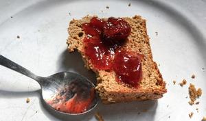 Bread cake au miso