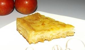 Gâteau aux pommes léger et sans balance