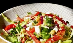 Salade morvandelle de légumes et légumineuses