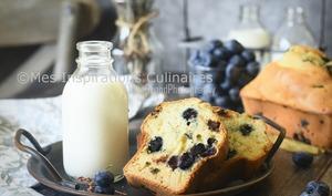 Gâteau du matin moelleux aux myrtilles