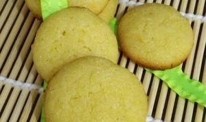 Biscuits à la semoule et au citron