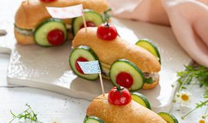 Voiture sandwich pour les enfants