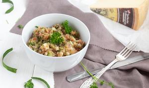Salade de quinoa au Vacherin Fribourgeois