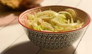 "Salade de fenouil style ""coleslaw"""