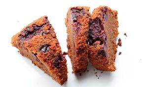 Gâteau à la kriek, aux cerises et au chocolat