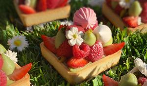 Les Tartelettes aux Fruits Rouges