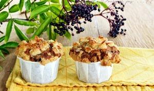 Muffins aux baies de sureau noir