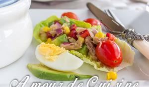 salade fraîcheur aux poivrons facile