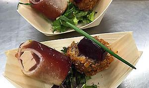 Canard gras et gelée de vin aux épices