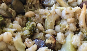 Poêlée d'orge perlé aux brocolis