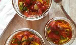 Tomates séchées à l'huile d'olive | Papilles à l'affût