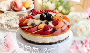 Cheesecake sans cuisson aux fruits d'été