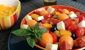 Salade sucrée salée à l'espagnole