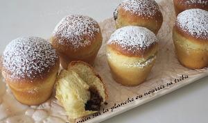 Muffins briochés au nutella