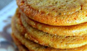 Galettes vegan à la farine de lentilles corail
