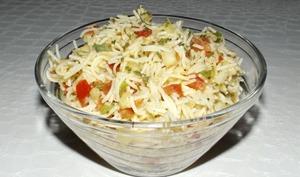 Salade de vermicelles façon taboulé