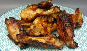 Ailerons de poulet grillés aux épices