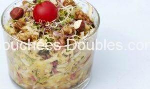 Salade de morue acido-basique