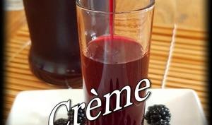 Crème de mûres