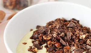 Granola express au chocolat