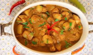 Poulet au curry indonésien