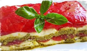 Pressé de Tomates, Mozzarella & Pesto