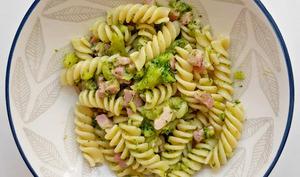 Pâtes aux brocolis et pancetta