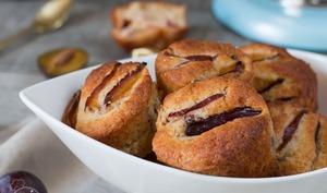 Muffins aux quetsches