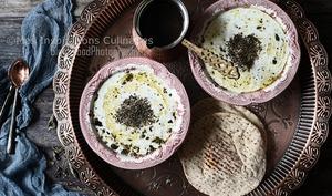 Soupe turque au yaourt et menthe