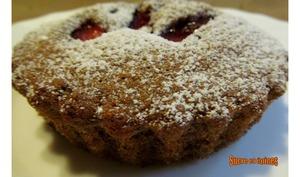 Petits gâteaux aux prunes et noix