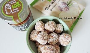 Boule à la noix de coco et confiture de lait