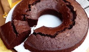 Gâteau d'argent au chocolat