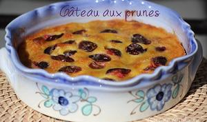 Gâteau aux prunes de Paul Bocuse