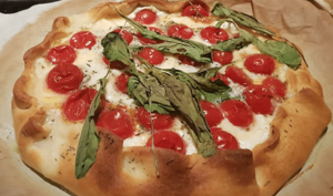 Une Pizza Moelleuse Sans Gluten