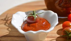 Ketchup aux tomates cerise