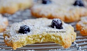 Cookies aux flocons d'avoine, huile de noix de coco et cassis Peureux, sans beurre