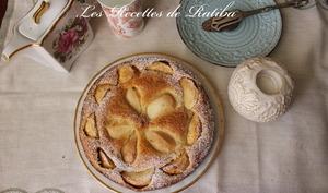 Gâteau Pommes Poires Raisins secs