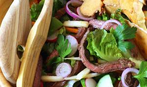Salade thaïe au boeuf épicé