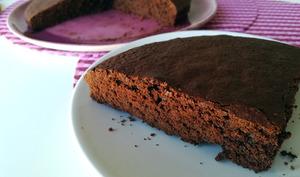 Gâteau au chocolat moelleux et léger