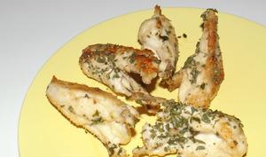 Bréchets de poulet à la persillade