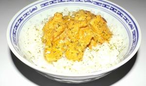 Escalope de poulet Tandoori au lait de coco