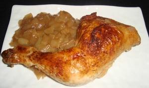 Cuisses de poulet aux échalotes et au coca cola