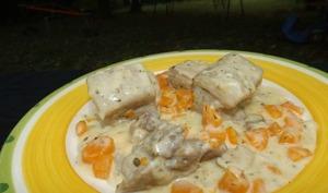Blanquette de veau aux carottes à ma façon