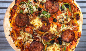 Pâte à pizza sans pétrissage à fermentation lente